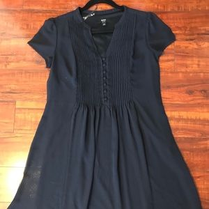 MSK Peasant button dress - Petite Size 10